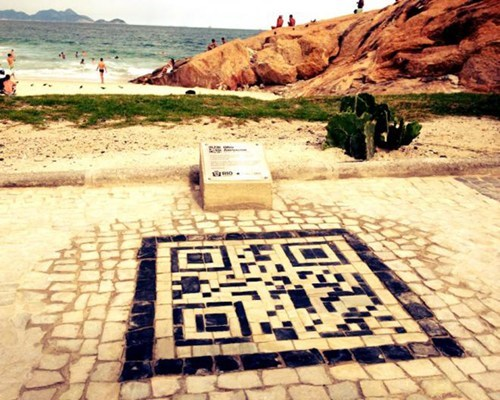 Cool Design of the Day: QR Codes for Tourists