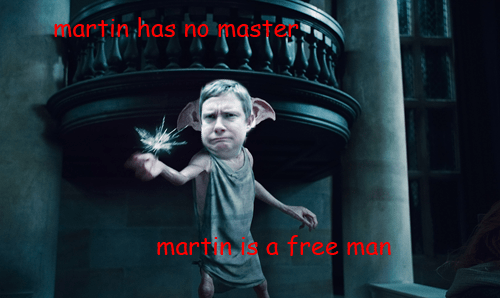 Harry Potter,Martin Freeman,pun,Movie,actor,funny