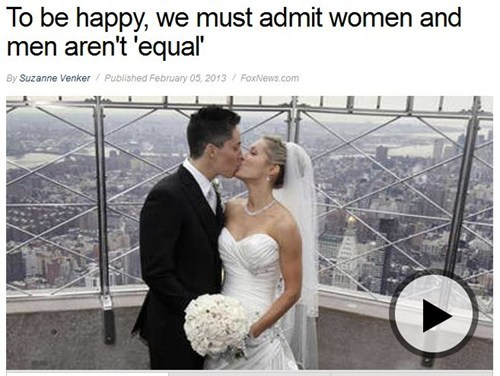 Somebody Used a Same-Sex Couple in a Piece About Traditional Marriage!