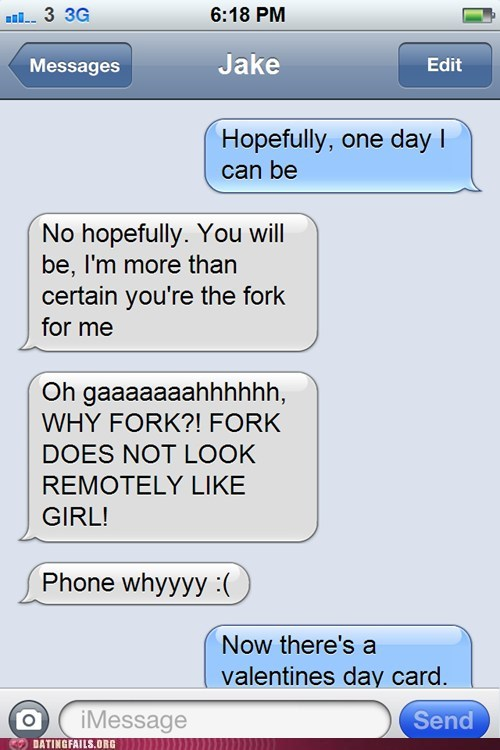 Will You Be My Fork?