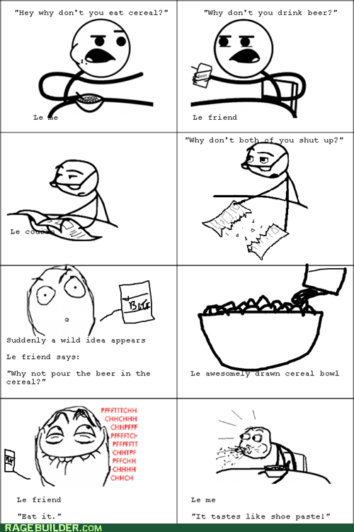 Cereal Prank