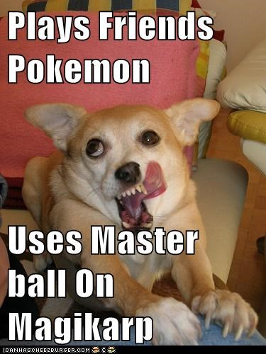 Plays Friends Pokemon  Uses Master ball On Magikarp