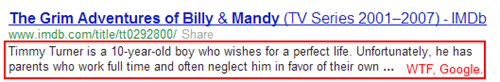 WTF, Google.