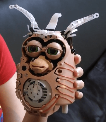 Ever Wonder What a Furby Looks Like Without Fur?