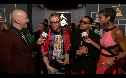 interviews,Grammys,wat,red carpet,riff raff