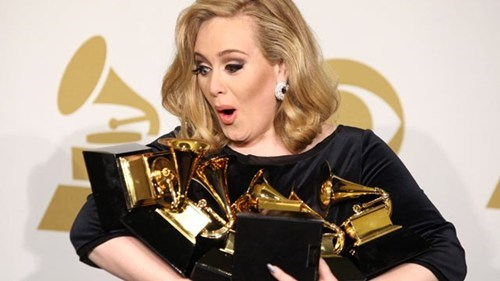 Adele Wins Best Solo Performance. Come On, Grammys, She Already Has a Pile of Them, She Doesn't Need More