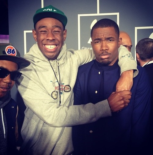 Tyler the Creator is at the Grammys and is Making Everyone Uncomfortable