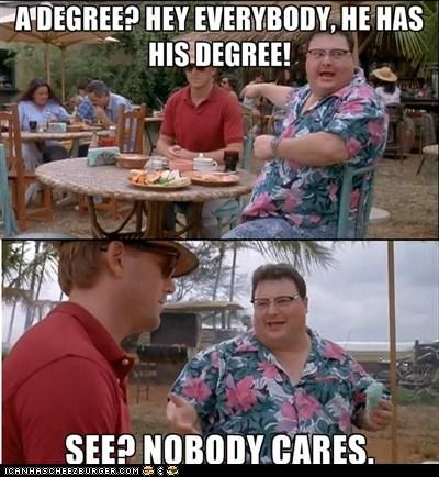 Nobody cares, Dodgson...