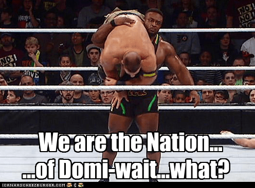 Nation of Domi-wait, What?