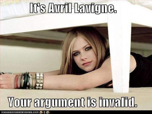 Avril: So Compli-HATED...