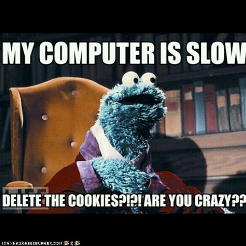DELETE THE COOKIES=CRAZY