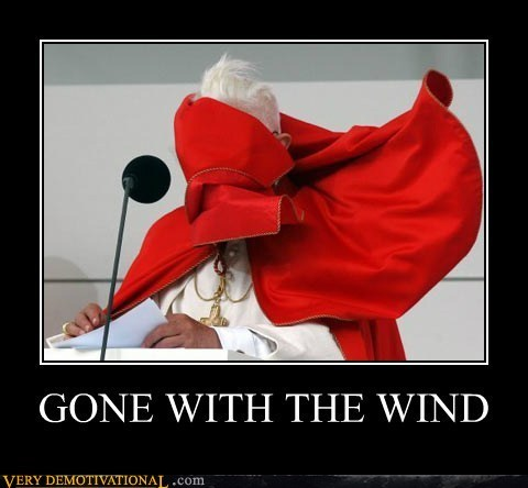 The Pope is Gone