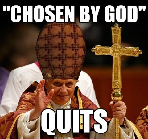scumbag hat,pope,scumbag pope