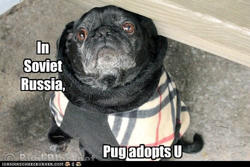 In Soviet Russia,