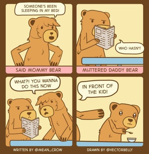 comics,goldilocks,cheating spouse