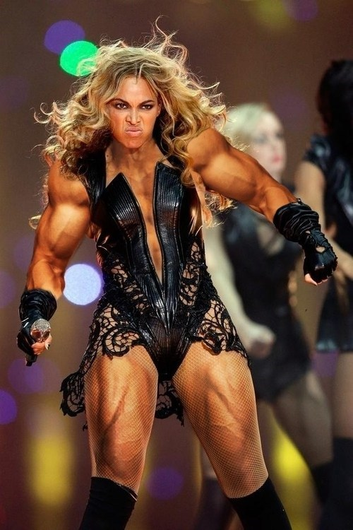 Beyonce DEFINITELY Lifts