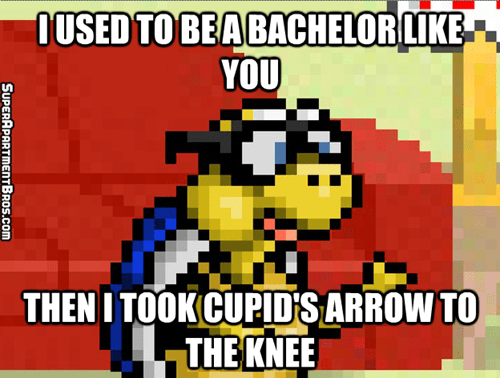 Cupid's Arrow to the Knee