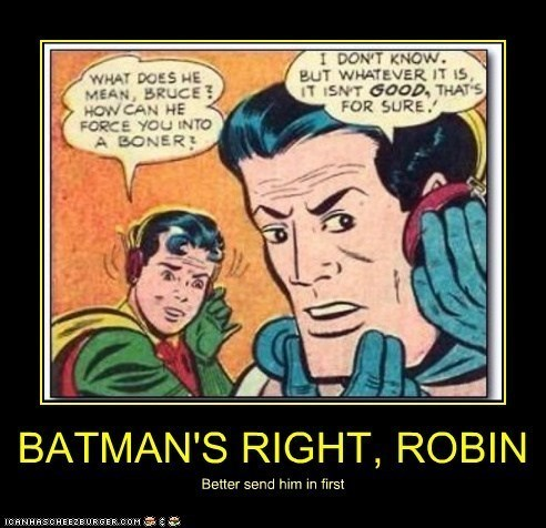 Robin Always Tests the D