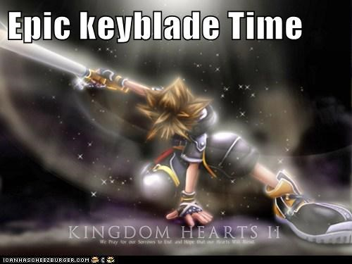 Epic keyblade Time