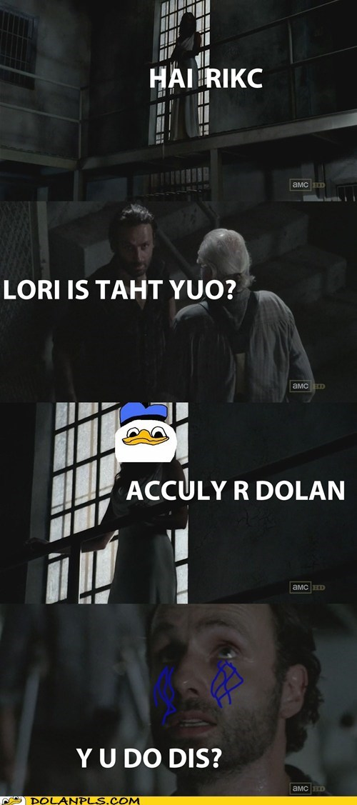 The Walking Dead,actually dolan