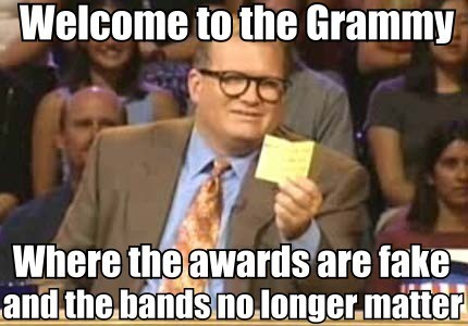 Whose Award Show is it Anyway?