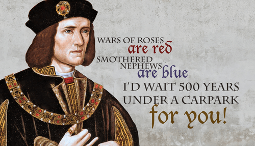 Richard III Was Such a Poet
