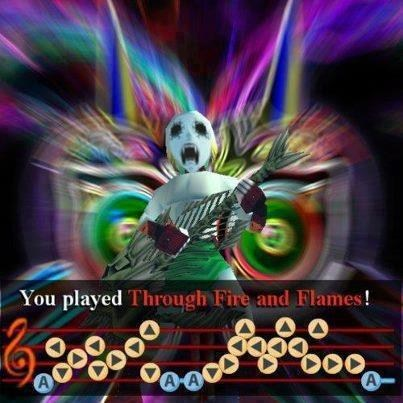 Guitar Hero/Zelda Mashup!