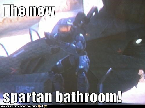 The new   spartan bathroom!