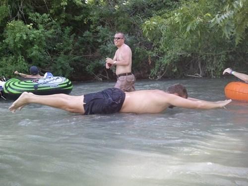 Planking,timing,photography,lake