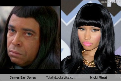 James Earl Jones Totally Looks Like Nicki Minaj