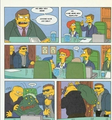Office Meme, The Simpsons Version