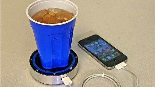 The iPhone Charging Coaster