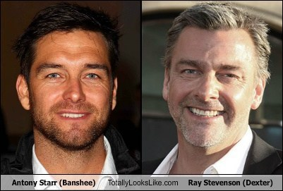 Antony Starr (Banshee) Totally Looks Like Ray Stevenson (Dexter)