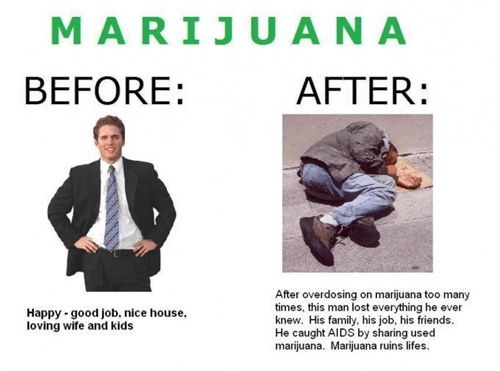 Be Careful About Taking Too Many Marijuanas