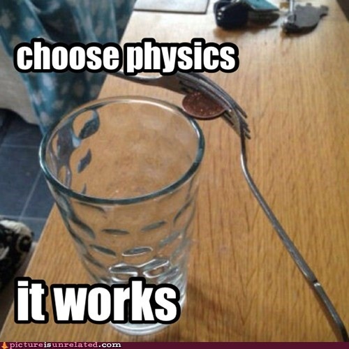 Thank you for choosing physics
