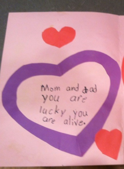 childrens-writing,threats,valentine's day cards,g rated,Parenting FAILS