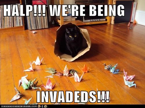 HALP!!! WE'RE BEING   INVADEDS!!!