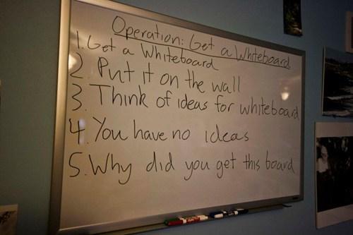 frivolous,ideas,whiteboard