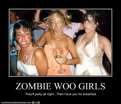 ZOMBIE WOO GIRLS