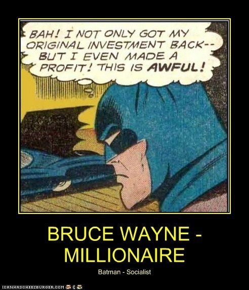 Batman Doesn't Understand Business