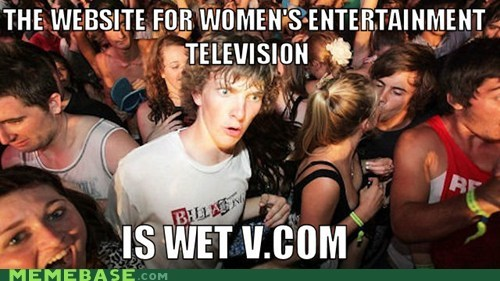 we tv,that sounds naughty,sudden clarity clarence