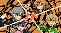 crossover,Pokémon,persona 4,fan art