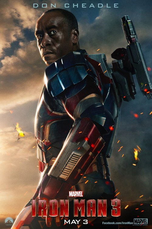 "First Look: Don Cheadle in ""Iron Man 3"""