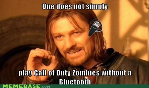 Call of Duty+Bluetooth=GAMER