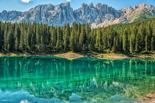 Reflecting Waters in Northern Italy