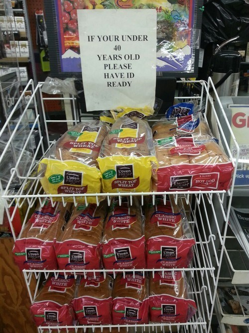 supermarket,illegal substances,bread
