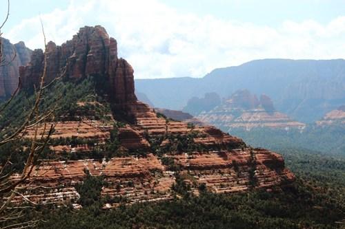 rocks,Forest,landscape,mountains,mesa
