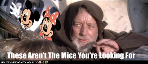 The Mice You Are Looking For
