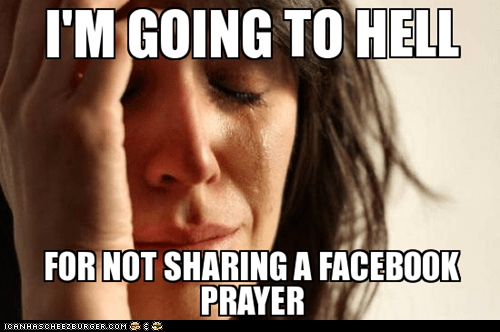 Facebook Prayers