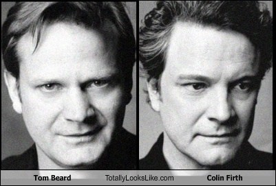 Tom Beard Totally Looks Like Colin Firth